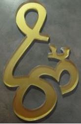 Picture of Om Sign Wall Plaque Acrylic