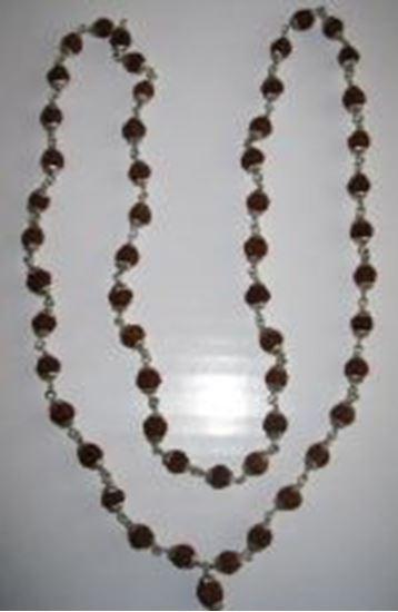Picture of Rudrakshmala Silver Cap
