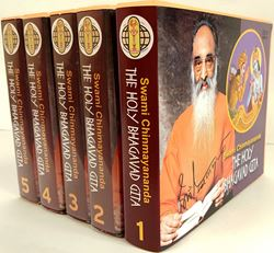 Picture of A set of Bhagavad Gita talks full in 55 DVDs