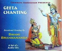 Picture of Geeta Chanting (set of 4)