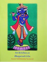 Picture of Sri Krishna as Bhagavad-Gita