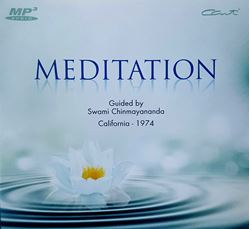 Picture of Meditation Guided by Swami Chinmayananda (MP3)
