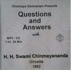 Picture of Q&A with Swamiji at Olivette MP3