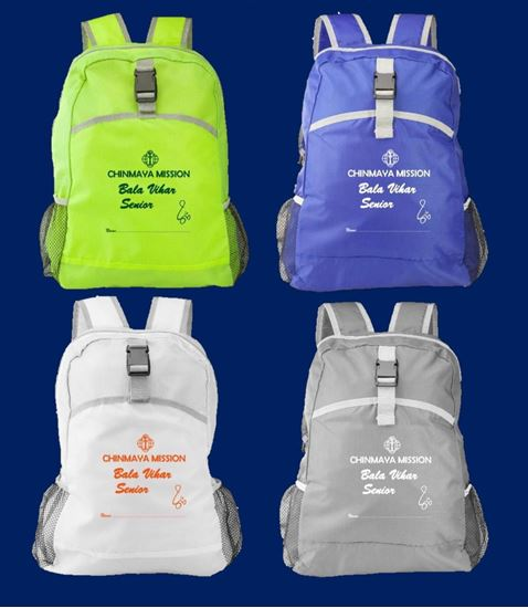 Picture of Backpacks for Bala Vihar Seniors